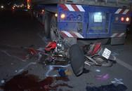 Nam thanh niên chạy xe máy tông vào đuôi container tử vong tại chỗ
