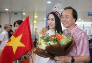 Bố đẻ ra tận sân bay đón, Dương Thùy Linh bật khóc vì cảm động