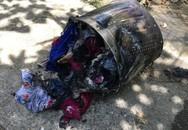 Suýt cháy nhà do... máy giặt quá tải