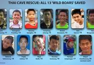 Tất cả đội bóng Lợn Hoang đã được giải cứu thành công