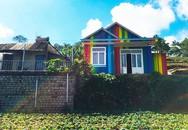 Ngôi nhà 'bảy sắc cầu vồng' trên đỉnh đồi của chàng trai Đà Lạt