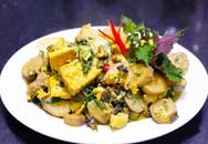 Món ngon cho bữa tối: Ốc om chuối đậu