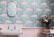 Những người phụ nữ ngọt ngào chắc chắn sẽ thích căn phòng tắm màu hồng này