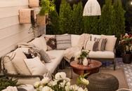 Phòng khách ngoài trời, ý tưởng tuyệt vời tận hưởng hương vị mùa hè