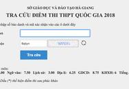 Con lãnh đạo chủ chốt tỉnh Hà Giang được nâng 5 điểm?