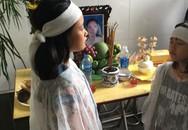 Quặn thắt trước cảnh hai chị em mồ côi cả bố mẹ vì tai nạn giao thông