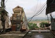 """Thêm nhiều ngôi nhà ở Hoà Bình có nguy cơ """"tuột"""" xuống sông Đà"""