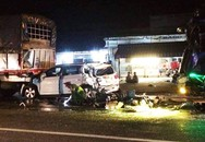 Tai nạn liên hoàn trên quốc lộ làm một người chết, 11 người bị thương