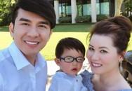 Lúc mới cưới, nhiều người gièm pha nhan sắc, 5 năm sau, vợ Đan Trường xinh đẹp rạng ngời