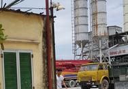 Hà Nội: Trạm trộn bê tông hoạt động nhiều năm, Chủ tịch UBND phường không biết có phép hay không?