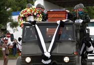 Thi thể cựu đặc nhiệm Thái thiệt mạng được đưa về quê nhà