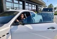 Thanh Thảo bầu vượt mặt vẫn lái siêu xe triệu đô khiến dân mạng 'lác mắt'