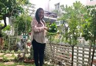 Nhà vườn xanh mướt rợp rau xanh và hoa hồng của vợ chồng Hồng Vân - Lê Tuấn Anh