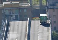 Khoảnh khắc thót tim của tài xế xe tải thoát chết trong gang tấc khi cầu cao tốc ở Italy sập