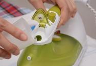 Mẹo sử dụng bàn là hơi nước đúng cách