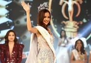 """Ngọc Châu """"vượt mặt"""" Mỹ Nhân đăng quang Hoa hậu Siêu quốc gia Việt Nam 2018"""