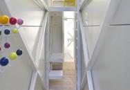 """Nhà """"siêu mỏng"""" bề rộng 1,2m vẫn đủ không thiếu phòng nào khiến ai cũng ngỡ ngàng"""