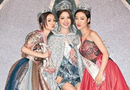 Tân Hoa hậu Hong Kong hớ hênh phút đăng quang vì váy quá ngắn