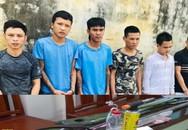 Thanh Hóa: Đối tượng bảo kê máy gặt ném chai xăng, bình ga vào cảnh sát