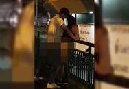 Chàng trai Singapore bị bắt vì 'mây mưa' cùng bạn gái trên cầu đi bộ