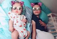 Tú Vi công khai khoe mặt con gái 4 tháng tuổi rất giống bố Văn Anh