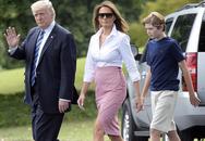 Con trai út của TT Trump: Thích vest, hay chơi golf, 12 tuổi cao gần 1,9m
