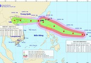 Tin mới nhất về cơn bão số 5: Bão chồng siêu bão nối đuôi vào biển Đông