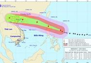 Tin mới nhất về siêu bão Mangkhut: Tâm bão có thể đi xuyên qua sát Hà Nội