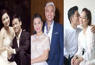 Kết cục bất ngờ của những cặp vợ già - chồng trẻ ở showbiz Việt