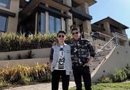 Quán quân Thần tượng Bolero Trung Quang tới thăm biệt thự triệu đô của Đan Trường ở Mỹ