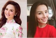Hoa hậu Diễm Hương đăng ảnh với gương mặt khác lạ