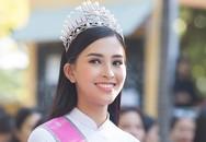Hoa hậu Trần Tiểu Vy giản dị, dịu dàng trong ngày trở về trường