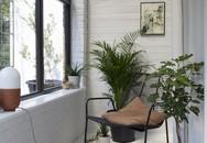Sau cải tạo, căn phòng cũ nhạt nhẽo đã biến thành góc thư giãn ngập tràn ánh nắng với phong cách Scandinavian