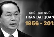 Nhiều nước để Quốc tang Chủ tịch nước Trần Đại Quang