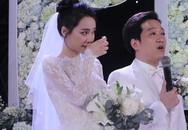 Câu chuyện xúc động phía sau giọt nước mắt của Trường Giang - Nhã Phương trong đám cưới