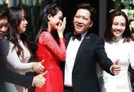Chiếc áo dài tố cáo vòng 2 to bất thường của Nhã Phương trong đám cưới