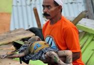 Những hình ảnh tang thương từ trận sóng thần, động đất tàn phá Indonesia ngay trước lễ cầu nguyện