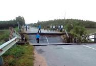 Sập cầu, một huyện ở Bình Thuận bị chia cắt