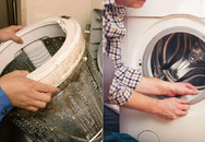 Máy giặt không vệ sinh bẩn hơn bồn cầu 530 lần: Đừng lơ là kẻo sinh bệnh hại thân!