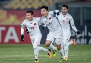 """Clip: U23 Việt Nam hát mừng """"Như có Bác Hồ trong ngày vui đại thắng"""" sau khi đánh bại Qatar"""