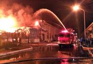 Quảng Ninh: Cháy lớn tại công ty lúc rạng sáng