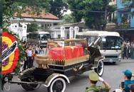 Hình ảnh đáng nhớ về đoàn xe tang đưa linh cữu Chủ tịch nước về quê nhà