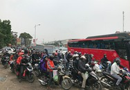 Đường trên cao, cửa ngõ Thủ đô ùn tắc nghiêm trọng sau kỳ nghỉ Tết dương lịch