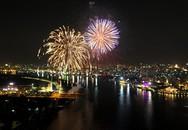 Ngắm pháo hoa rực trời Sài Gòn qua ống kính flycam