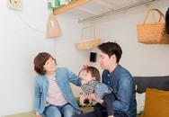 """Nhà chật lại có con nhỏ, vợ chồng trẻ vẫn sống thoải mái nhờ dùng """"nội thất treo"""""""