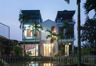 Ngôi nhà 700 triệu đồng ốp gạch thông gió mặt tiền ở Hải Dương
