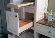 Tủ kéo - giải pháp lưu trữ tiết kiệm không gian cho bất kỳ phòng tắm nhỏ nào
