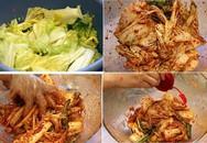 Cách làm kim chi ăn liền đúng kiểu Hàn Quốc cực dễ ai cũng làm được