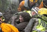 Bị chôn vùi trong vụ lở bùn, bé gái 2 tuổi thoát chết thần kỳ