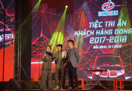 Cán mốc 2874 xe trong năm 2017, thương hiệu DongBen tưng bừng tri ân đại lý toàn quốc